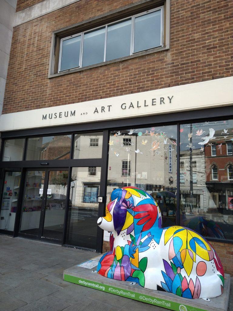 Derby Museum Entrance