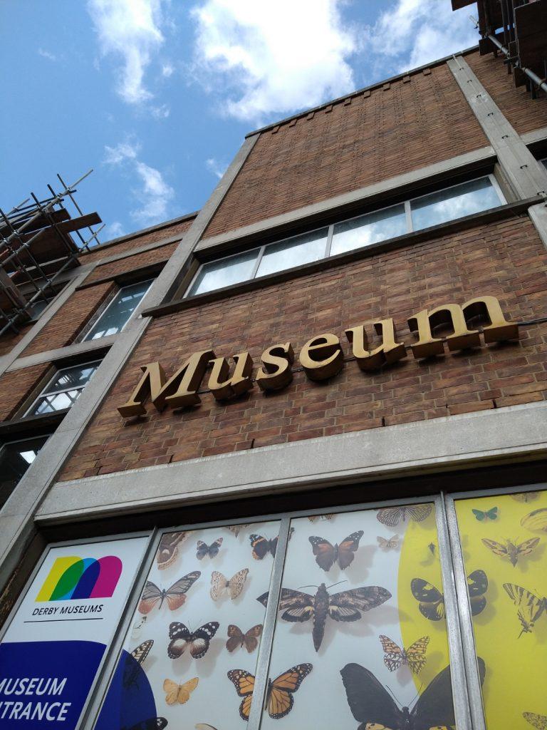 Derby Museum Vertical Exterior